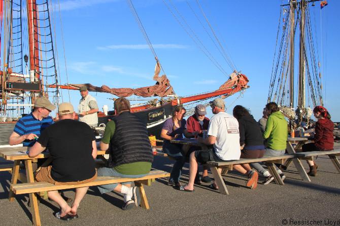 Essen am Pier